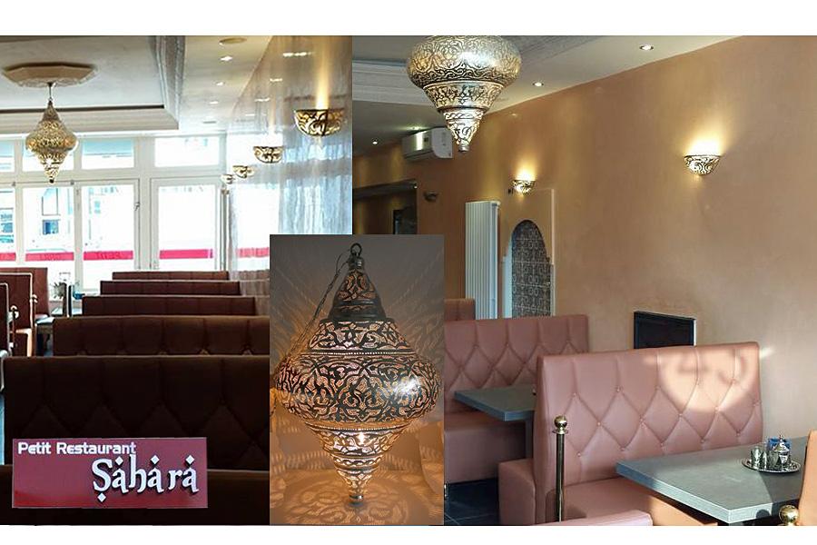 Arabische lampen nour lifestyle voor restaurant utrecht - Restaurant decoratie ...