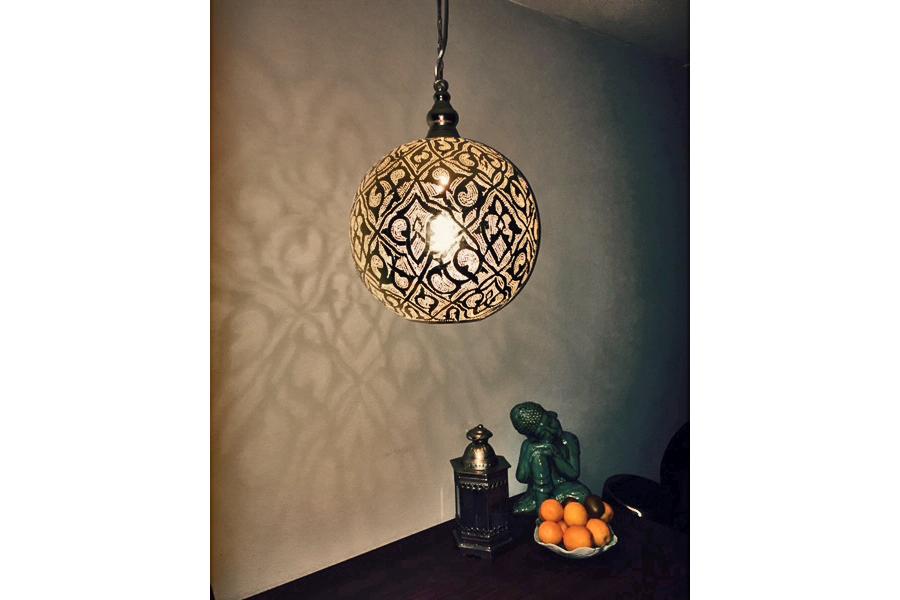 Marokkaanse Lampen Goedkoop : Oosterse lampen goedkoop zenza arquette pear large silver