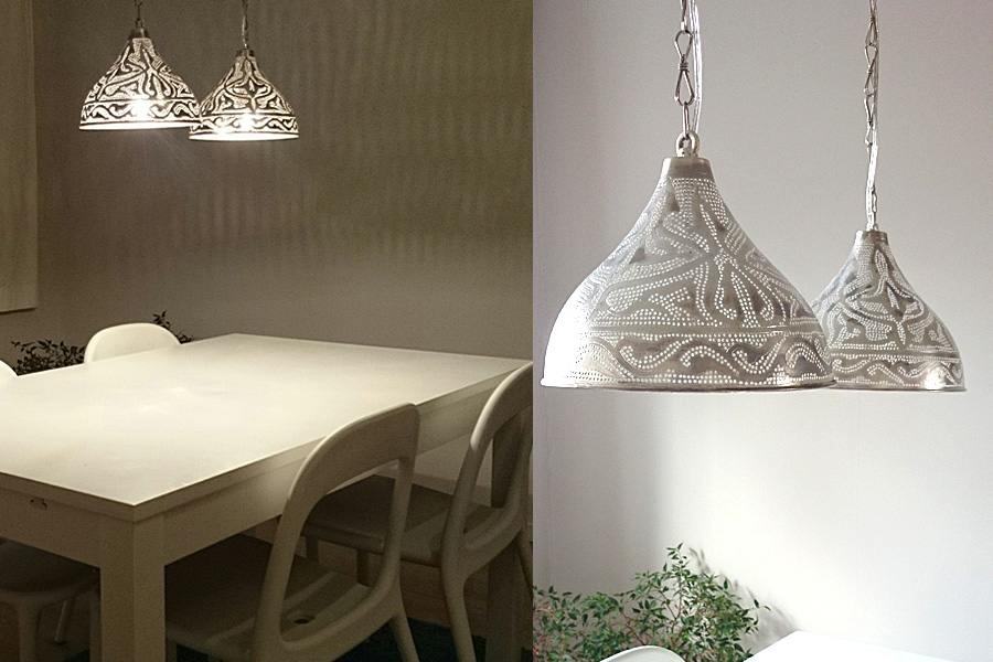 Eetkamer Hanglampen : Egyptian Dining Table Lighting