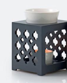 Aromabrander Marroc Donker Grijs