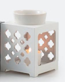 Aromabrander Marroc Wit