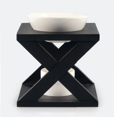 Aromabrander Zwart Kruis