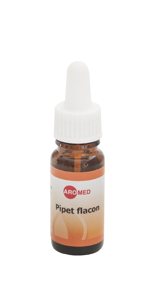 Lege flacon 10 ml met pipetdop