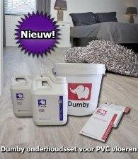 Dumby onderhoudsset voor PVC vloeren