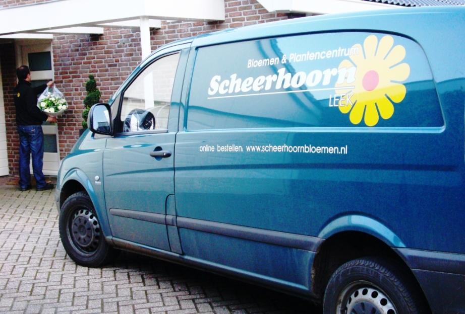 Bezorgbus Scheerhoorn