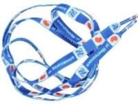 Voorbeeld veters met logo