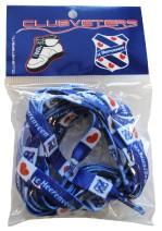 Voorbeeld verpakking veters met logo