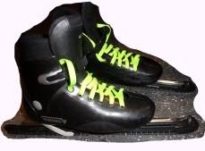schaatsveters neon geel