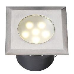 GARDEN LIGHTS LEDA RVS LED GRONDSPOT, 12 VOLT