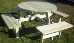 picknicktafel rond