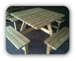 picknicktafel vierkant