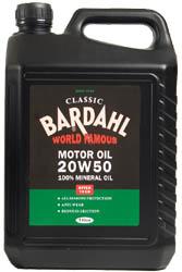 Classic Motor Oil SAE 20W50