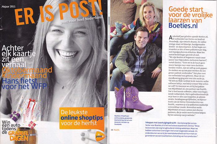 Interview met Boeties.nl voor ER IS POST!