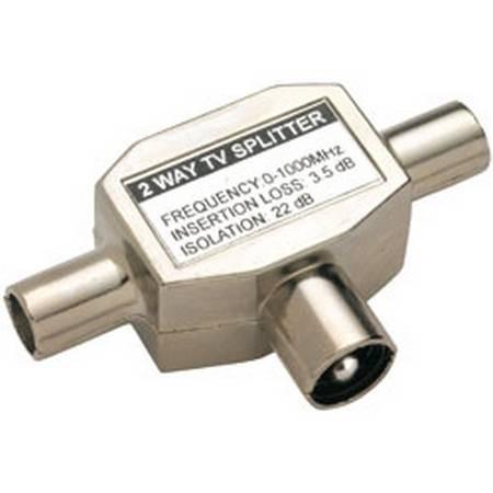 Splitter voor coax kabel
