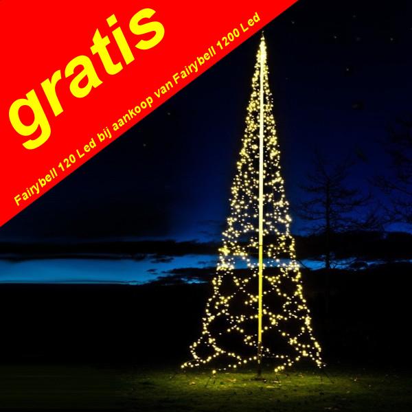 Vlaggenmast kerstboom aanbieding