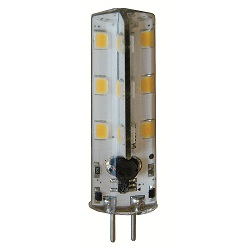 LED CYLINDER LAMP WIT 12 VOLT 2 WATT