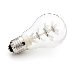 Konstsmide LED kogellamp E27 warmwit 7706-013