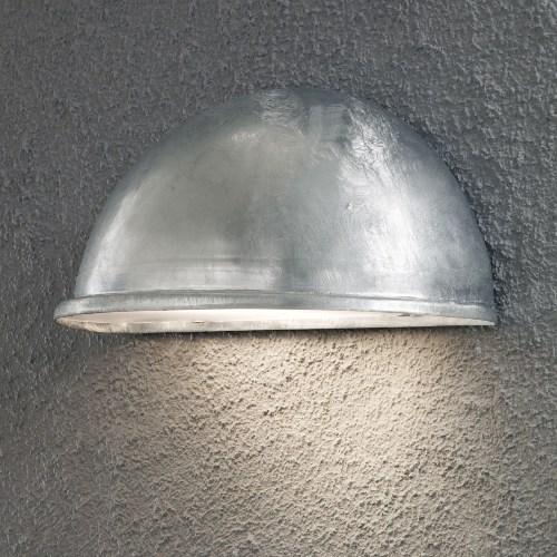Buitenlamp gegalvaniseerd
