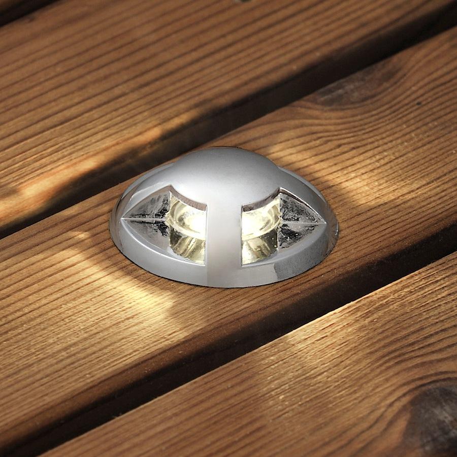 6 stuks rvs led 120 volt spots 7659 000 konstsmide. Black Bedroom Furniture Sets. Home Design Ideas