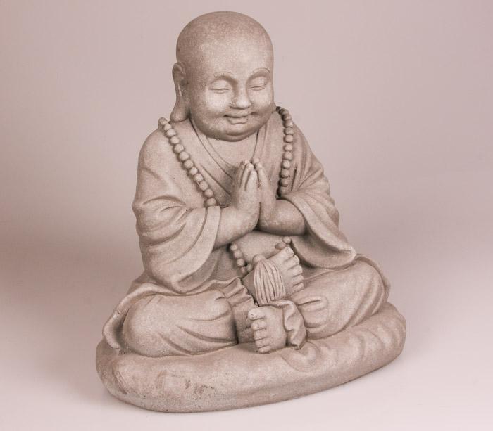 Boeddhabeeld happy meditatie
