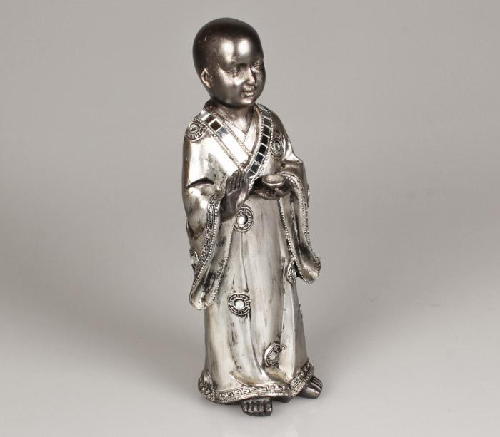 Shaolin monnik met kom