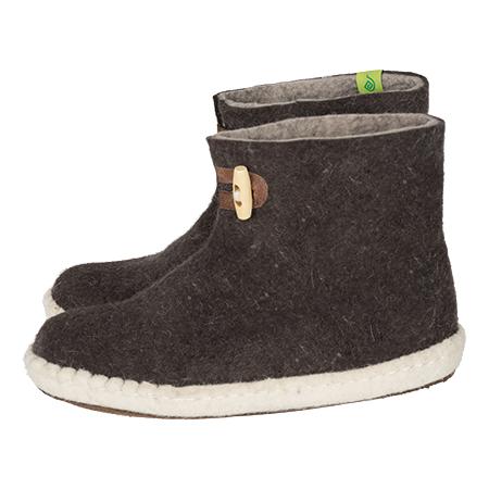 Vilten herenslof High Boots brown