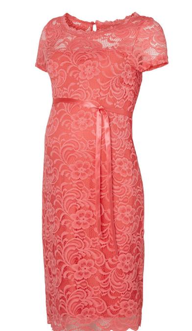 Dress Mivana coral