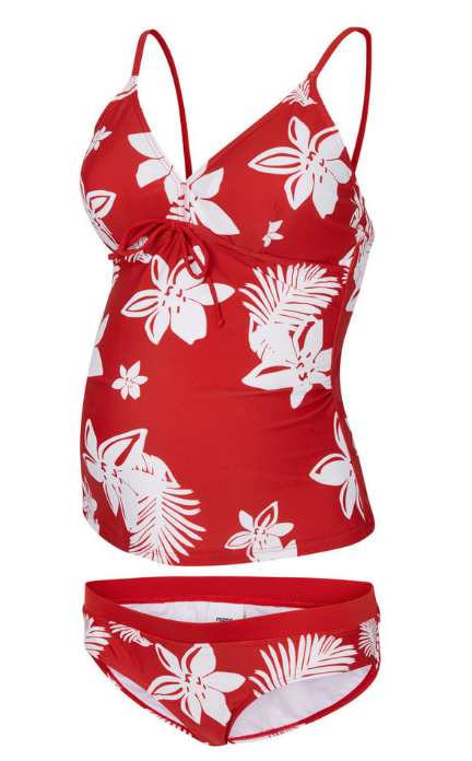 Tankini Dorine red