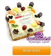 Logo taart