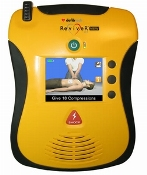 Defibtech View AED incl. gratis Rescue kit + AED logo op sticker