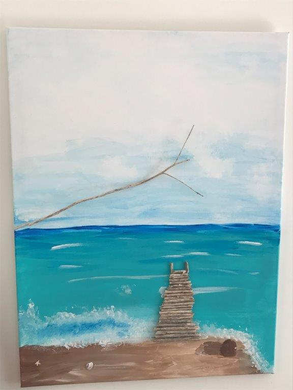 3d painting jetty