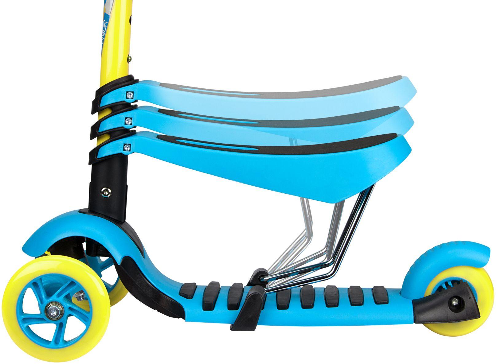 Nijdam 3-wiel-step-met-verstelbare-zitting-tri-surfer-mini