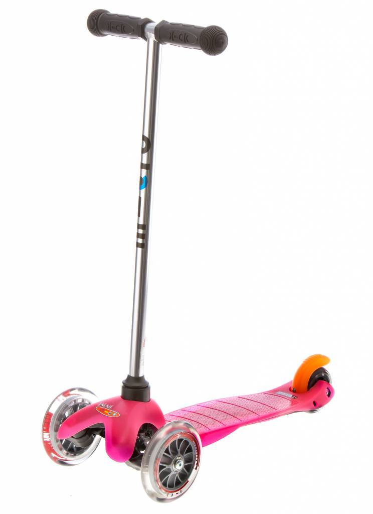 Mini Micro step Roze 2-6 jaar