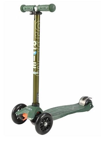 Maxi Micro step leger groen Metallic met T-bar 5-12 jaar