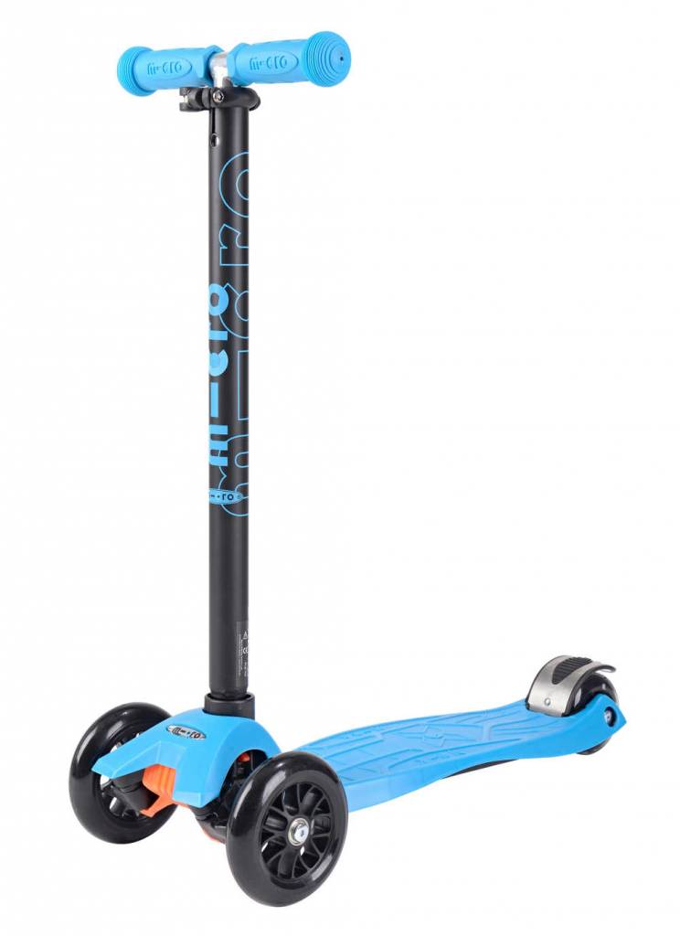 Maxi Micro step Aqua met T-bar 5-12 jaar