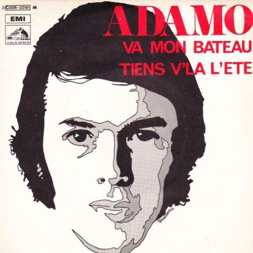 Adamo - Va Mon Bateau / Tiens V'La LÉ'té
