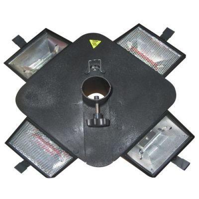 Garden Comfort Parasol Infrarood Heater & Verlichting