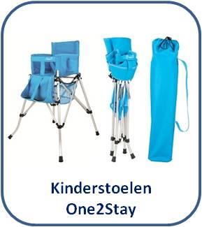 One2Stay opvouwbare kinderstoelen * Opklapbare kinderstoel camping