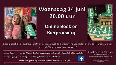 Online Bierproeverij & 'Boek en Bierpakket'