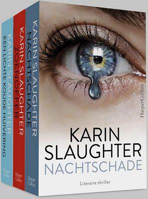 Karin Slaughter - Pakket - Nachtschade ; Zoenoffer ; Een lichte koude huivering