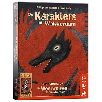 De Weerwolven van Wakkerdam - Karakters