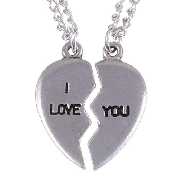 Kettingen Broken Heart - I love you