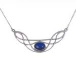 Ketting Celtic Bow lapis lazuli