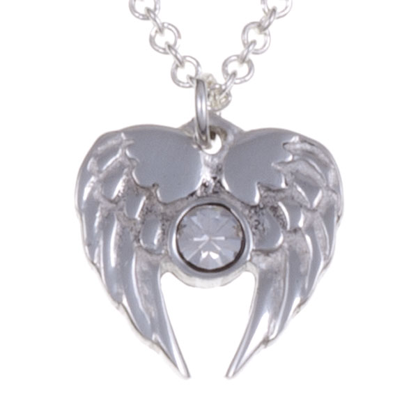 Ketting Angel Heart helder