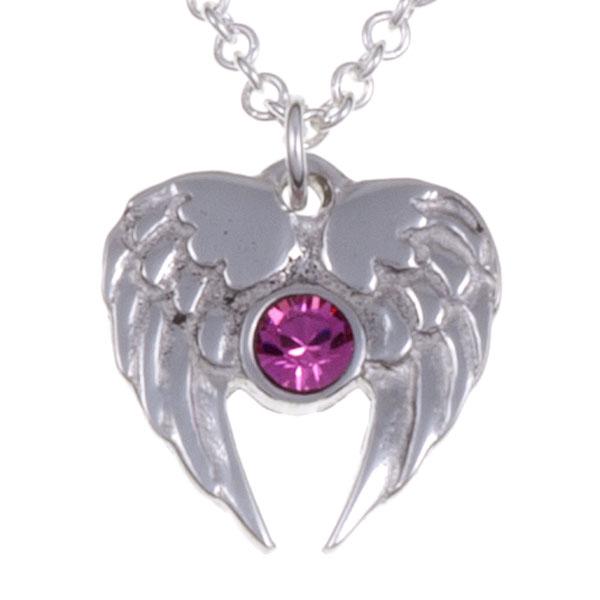 Ketting Angel Heart roze