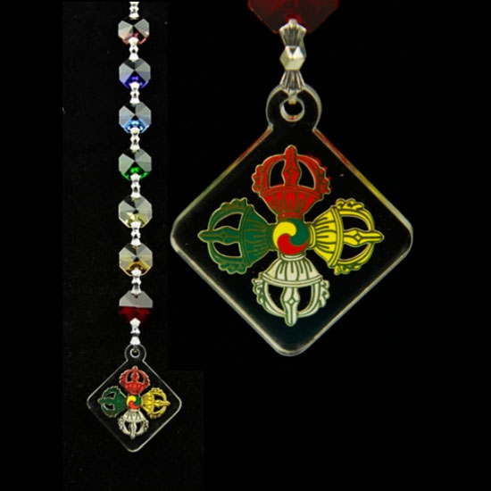 Chakra Kristal Vajra bescherming