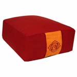 Meditatiekussen 1e Chakra rood
