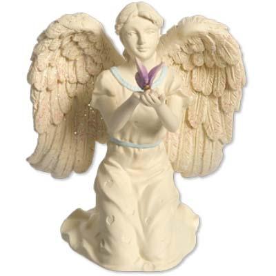Engelen beeld met vlinder de spirituele shop - Beeld van decoratie ...