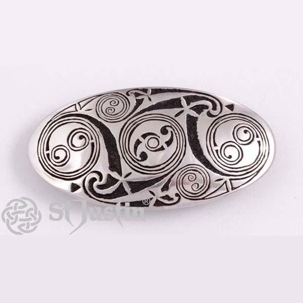 Haarspeld Lindisfarne Spirals