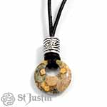 Edelsteen Amulet Jaspis Brecci
